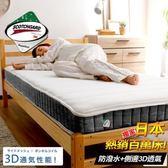 ASSARI-3M恆溫3D透氣獨立筒床墊(雙大6尺)