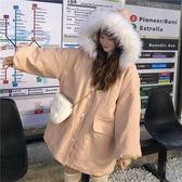 外套冬裝女甜美棉服2018新款韓版寬鬆面包服加厚棉衣萌棉襖中長款 台北日光