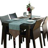 歐式餐桌桌旗茶幾餐墊裝飾布桌巾電視柜西餐桌棉麻隔熱墊碗墊鞋柜  艾尚旗艦店