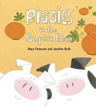 【麥克書店】PIGGIES IN THE PUMPKIN PATCH  /英文繪本 (主題:押韻)