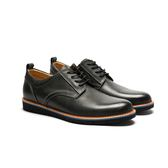 Waltz-活力撞色休閒紳士鞋 514056-02黑