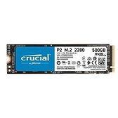 Micron 美光 Crucial P2 2TB (PCIe M.2) SSD CT2000P2SSD8