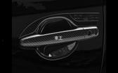 【車王小舖】三菱 Mitsubishi 2017 Outlander 門碗 防刮 碳纖維紋門碗 保護蓋