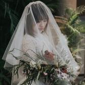 新娘結婚雙層遮