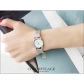 輕巧超薄設計錶款 小鏡面鋼索手錶婉錶 Valentino范倫鐵諾 柒彩年代【NE532】單支