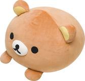 Hamee 免運 日本正版 San-X 超柔軟絨毛娃娃 大福捏捏玩偶 抱枕 黃色小雞 懶懶熊 拉拉熊 MX09401
