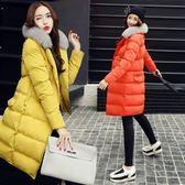 羽絨外套 中長款-流行純色毛領百搭女夾克3色73it171【時尚巴黎】