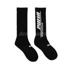 Puma 襪子 Classic Sock 男女款 黑 單雙入 彪馬 字樣Logo 台灣製 長襪【ACS】 BB1240-02