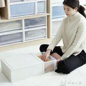 收納箱 塑料收納箱透明特大號抽屜式衣櫃收納盒桌面整理箱衣服儲物箱 YXS娜娜小屋