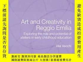 二手書博民逛書店Art罕見And Creativity In Reggio Em
