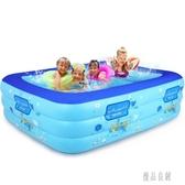 充氣游泳池 超大號成人家用加厚戲水水池 zh3984【優品良鋪】