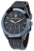 ★MASERATI WATCH★-瑪莎拉蒂手錶-經典藍三環石英錶-R8871612006-錶現精品公司-原廠正貨-