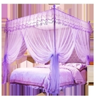 新款1.5米蚊帳公主風網紅支架1.8m床雙人家用學生宿舍加厚加密YYJ 夢想生活家