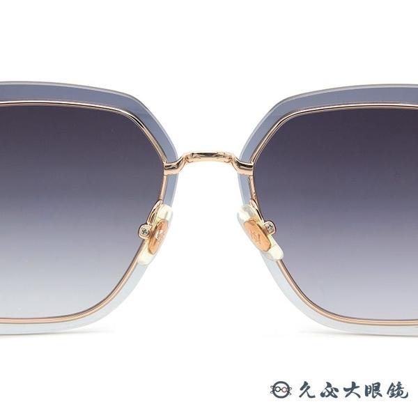 HELEN KELLER 林志玲代言 H8820 N24 (透灰-玫瑰金) 鑽石晶格 偏光太陽眼鏡 久必大眼鏡