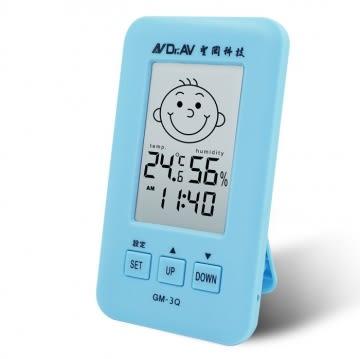 《鉦泰生活館》Dr.AV 三合一 智能液晶溫濕度計 GM-3Q