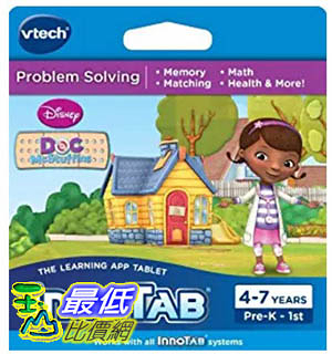 [106美國暢銷兒童軟體] VTech InnoTab Software, Disney s Doc McStuffins