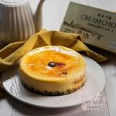 【父親節蛋糕&生日蛋糕推薦】糕餅小舖北海道焦糖海鹽流心乳酪蛋糕/6吋