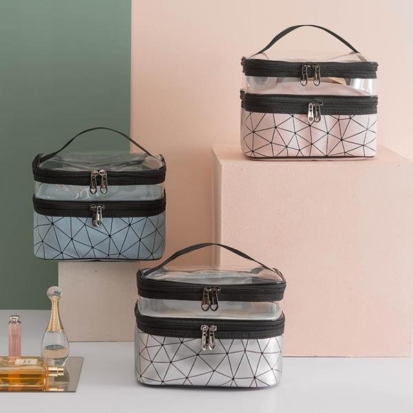 化妝包女便攜旅行收納包盒大容量超大防水洗漱包【匯美優品】