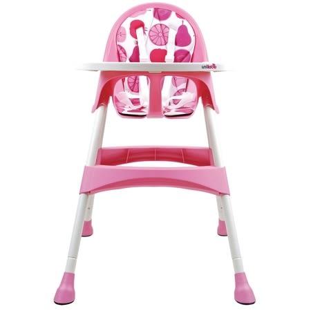 英國 Unilove 兒童高腳餐椅/兒童餐椅/餐椅-粉紅色