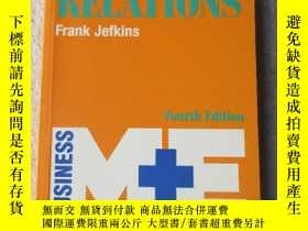 二手書博民逛書店Public罕見Relations (M & E Handboo