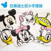 Norns 【日貨迪士尼小手提袋】米奇 米妮 唐老鴨 黛西 瑪麗貓 三眼怪 WC熊 帆布袋