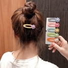 韓系髮飾 甜美可愛花朵糖果色單個髮夾 髮夾 H9518