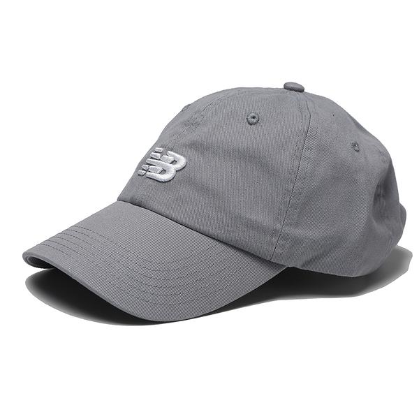 NEW BALANCE 帽子 NB 灰 刺繡LOGO 老帽 休閒 (布魯克林) LAH91014SEL