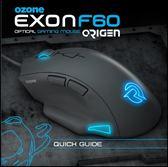 [地瓜球@] Ozone Exon F60 Origen RGB 電競 滑鼠~PMW3310 感應器