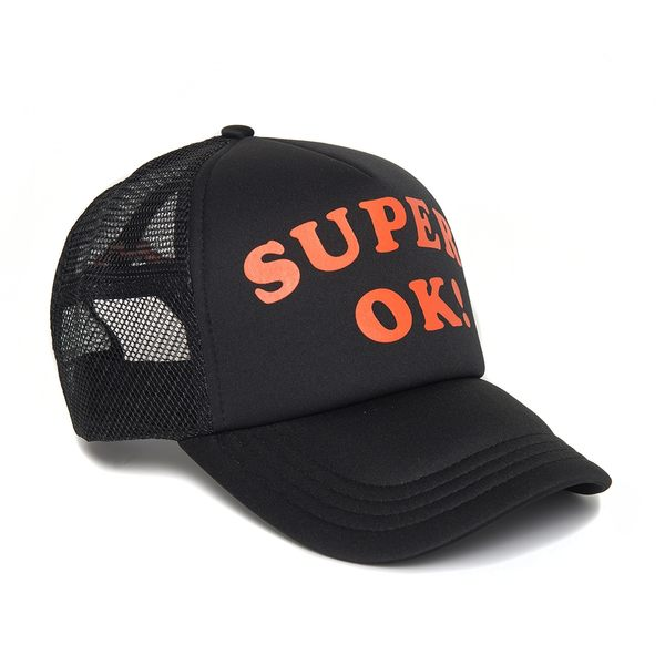 Deus Ex Machina Super Ok Trucker 棒球帽-男/女(黑)