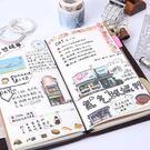 旅行手帳本子複古隨身筆記本文具 兒童節禮...