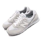 New Balance 復古慢跑鞋 NB 996 灰 白 麂皮 寬楦頭 運動鞋 女鞋【PUMP306】 WL996CLAD