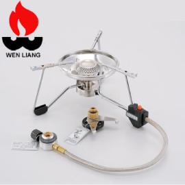 【Wen Liang 文樑 超大蜘蛛爐】9706/不鏽鋼/大蜘蛛爐/不鏽鋼爐/露營/登山