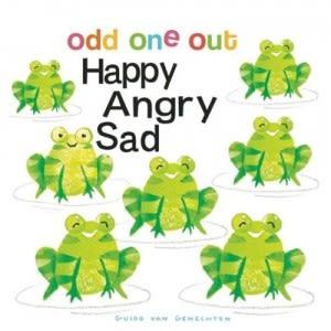 【幼兒觀察力訓練繪本】ODD ONE OUT HAPPY ANGRY SAD / 硬頁書
