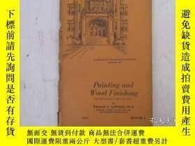 二手書博民逛書店民國:Painting罕見and Wood Finishing【USA】 房屋工程建造系列Y23766