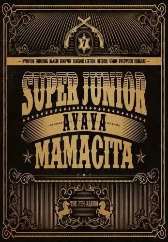 SUPER JUNIOR 第七張正規專輯MAMACITA 台壓A版 CD(購潮8)
