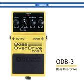 【非凡樂器】BOSS ODB-3 貝斯破音效果器/贈導線/公司貨保固