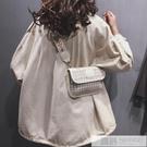 寬肩帶斜挎網紅小包包女包2020新款高級感韓版時尚百搭單肩包  母親節特惠
