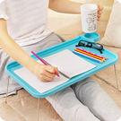 筆記本電腦桌床上用桌可折疊簡易懶人小書桌創意塑料宿舍學習桌子