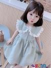 兒童連身裙 女童連身裙夏裝2021新款兒童洋氣韓版格子女寶寶夏季短袖公主裙子寶貝計畫 上新