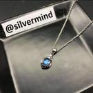 銀色思維 / 斯里蘭卡玻璃體藍暈月光石 ...