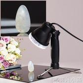 攝影燈 攝影棚射燈 蜜蠟銀首飾暖光攝影燈小型 手機拍照LED補光燈 靜物台JD    非凡小鋪