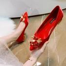 婚鞋女春季新款結婚
