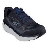 SKECHERS系列-MAX CUSHIONING 男款黑藍運動慢跑鞋-NO.54450NVY