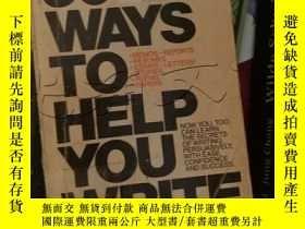 二手書博民逛書店30罕見WAYS TO HELP YOU WRITE. ---[