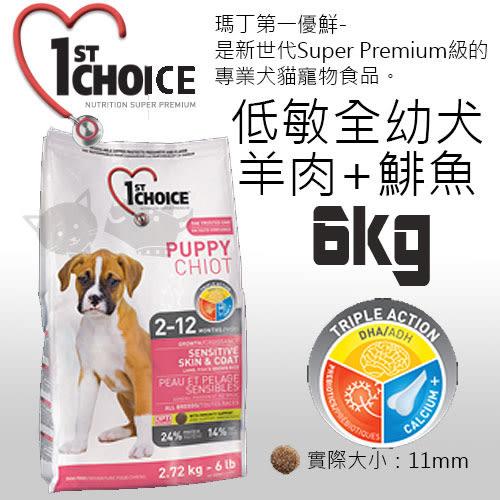 [寵樂子]《瑪丁-第一優鮮》全犬種幼犬羊肉+鯡魚+糙米配方-6KG