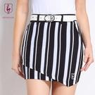 高爾夫裙 夏季新款高爾夫裙防走光女士格子短裙褲半身裙包臀豎條紋220176-Ballet朵朵