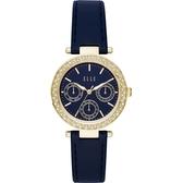 【ELLE】/三眼晶鑽時尚腕錶(男錶 女錶 Watch)/ELL23003/台灣總代理原廠公司貨兩年保固