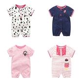 短袖兔裝 春夏連身衣 棉質嬰兒服 寶寶童裝 XIS22363 好娃娃
