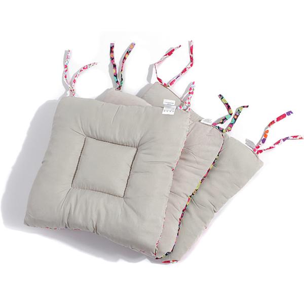 日單碎花田園甜美家居時尚系繩系帶棉質軟舒適保暖椅墊坐墊沙發墊Mandyc