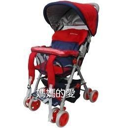 [ 台中水族 ]Mother's Love-KC510A全罩三明治透氣網布揹架手推車 -紅灰色  促銷價